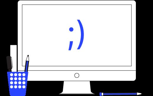 illustration of mac computer